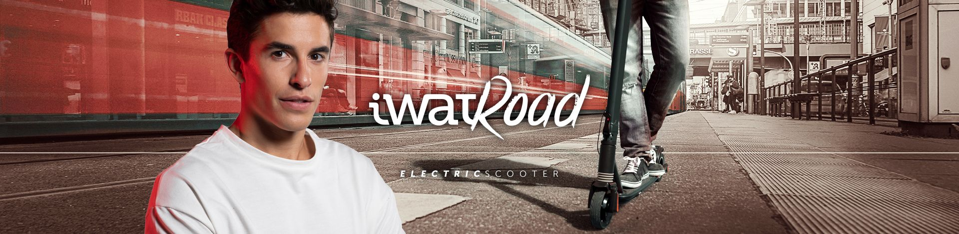 iWatRoad Electric Scooter