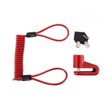 Disc brake lock Red